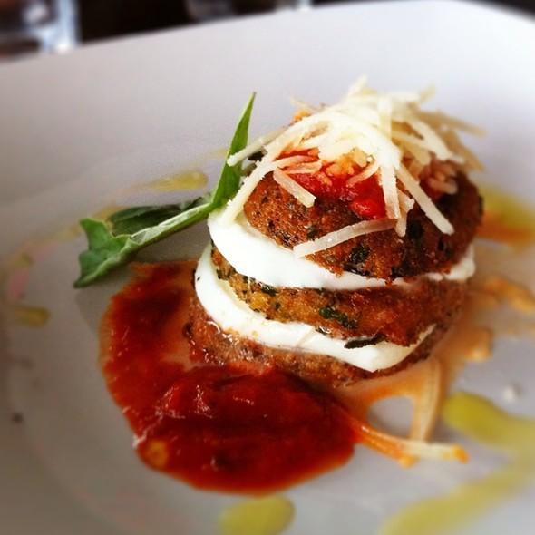 Eggplant Parmigiana - Queen Margherita Pizza - Leslieville, Toronto, ON