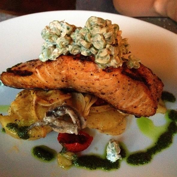 "Grilled Salmon ""Nicoise"" Style - Nordeen, Toronto, ON"