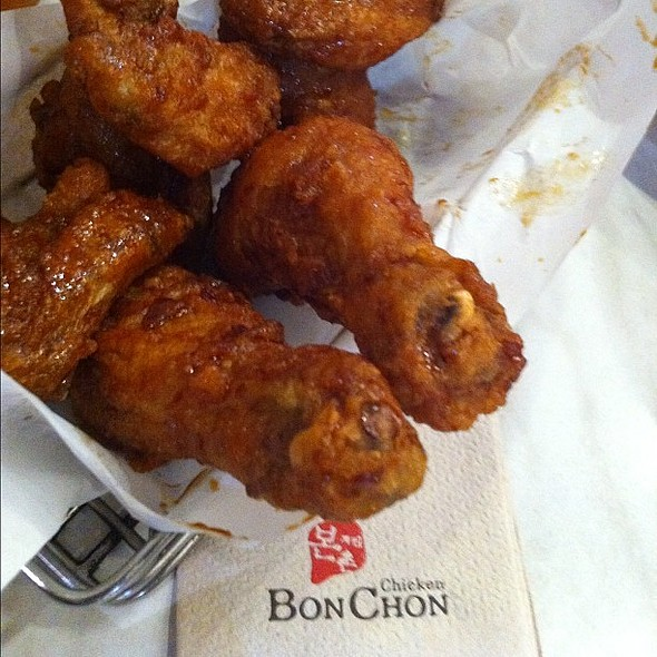 Snack Time BONCHON @ Bon chon chicken