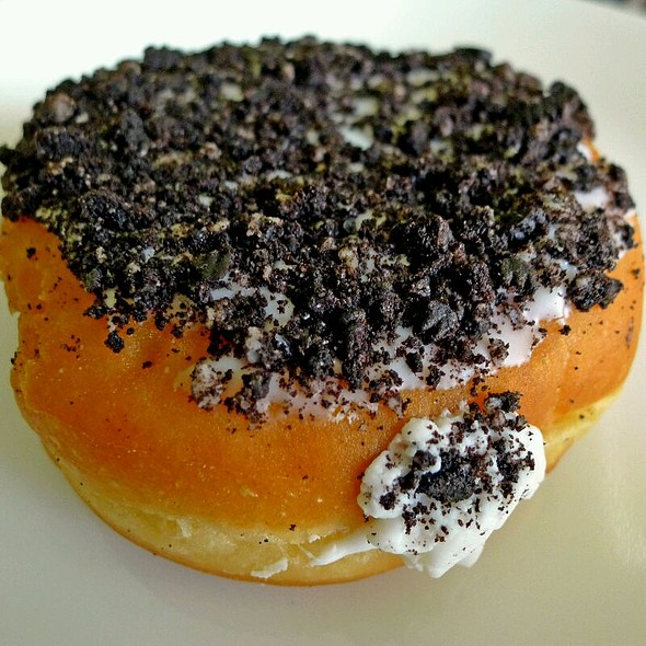 Oreo Creme Filled Doughnut @ Dunkin' Donuts