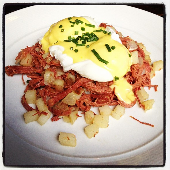 Corned Beef Hash @ Roebling Tea Room