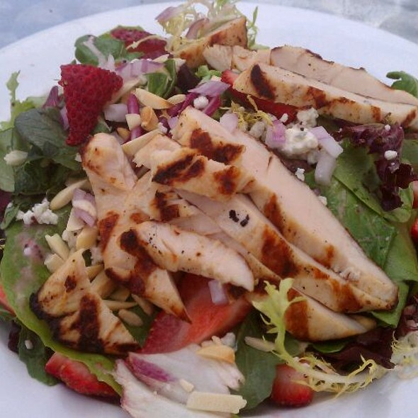 Strawberry Chicken Salad W/ Cherry Vinagrette - The Herkimer Pub and Brewery, Minneapolis, MN