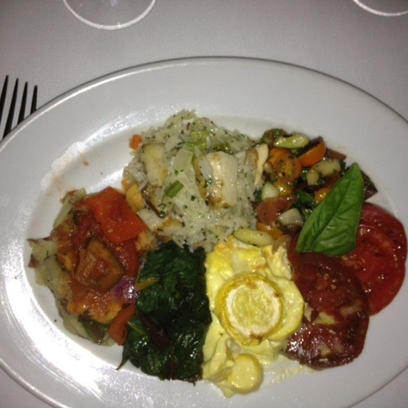 Vegetable Plate @ Highlands Bar & Grill