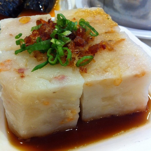 Steamed Radish Cake @ Sea Harbour Seafood Restaurant
