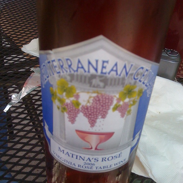 Matina's Rose 2006 Wine  @ Mediterranean Cellars LLC