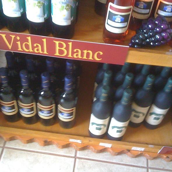 Vidal Blanc Wine  @ Mediterranean Cellars LLC