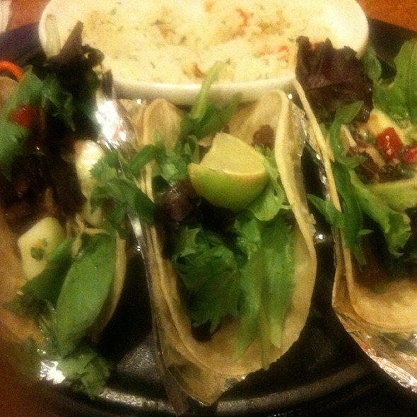 Korean Beef Tacos @ T.G.I. Friday's