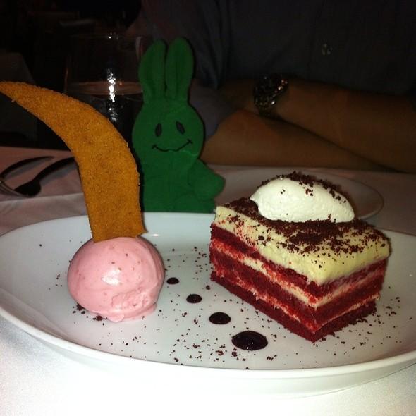 Red Velvet Cake - Clyde Frazier's Wine and Dine, New York, NY