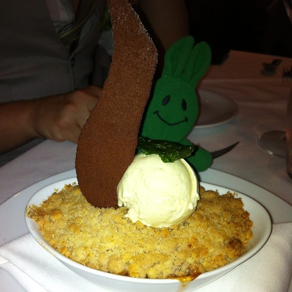 Peach and Blueberry Cobbler - Clyde Frazier's Wine and Dine, New York, NY