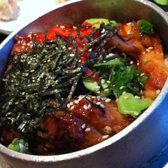 Teriyaki Chicken with rice @ Sun With Moon Japanese Dining & Cafe (Wheelock Place)
