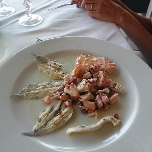 Grilled Mediterranean Sardines @ Ristorante la Conca Azzurra
