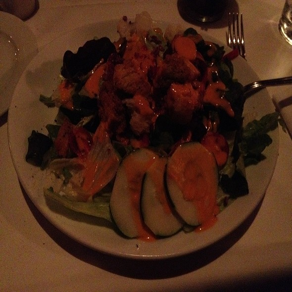 Mixed Green Salad - RingSide Steakhouse - Uptown, Portland, OR