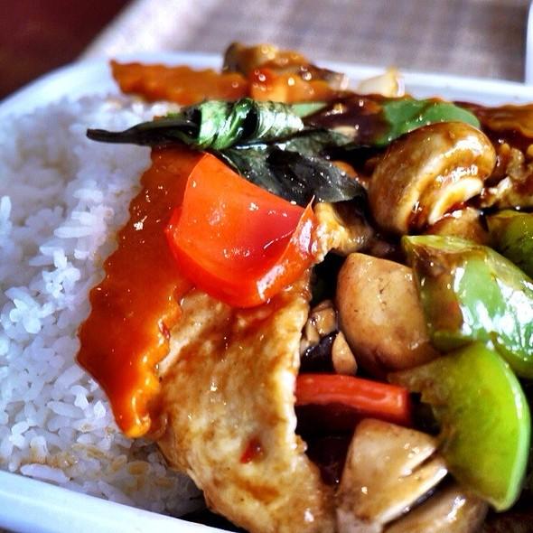 Spicy Basil Chicken @ Urban Kitchen