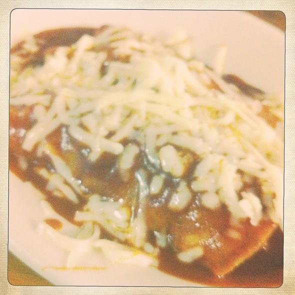 Beef Enchilada @ New Mecca