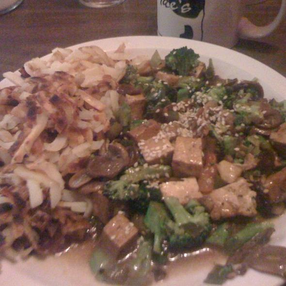 Tofu Breakfast @ Mae's Phinney Ridge Cafe