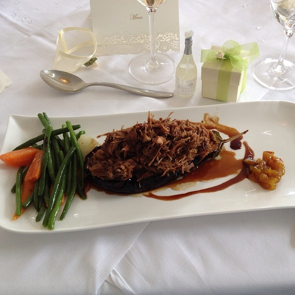 Lamb with Aubergine @ Beaubery House