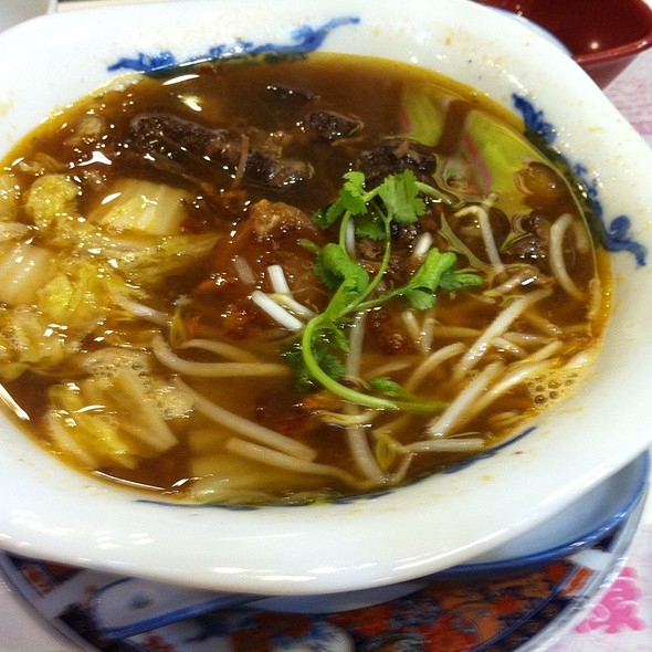 Tomato Beef Noodle Soup @ Spring By Ha Yuan