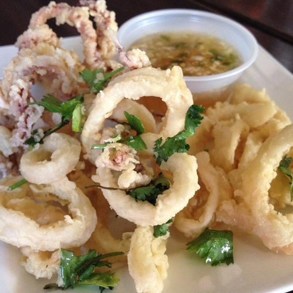 Fried Calamari - Kindee Thai Restaurant, Minneapolis, MN