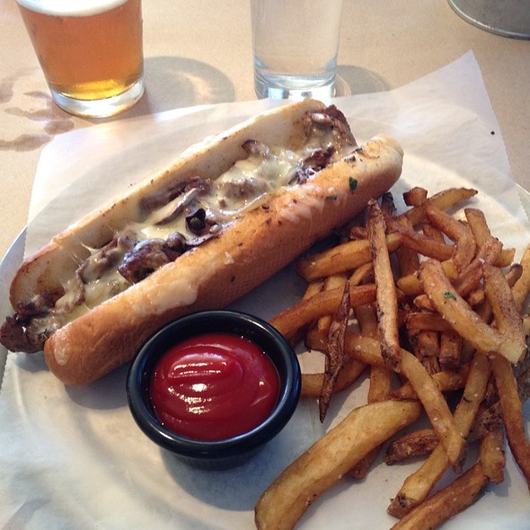 Ribeye Cheesesteak Sandwich @ Nosh