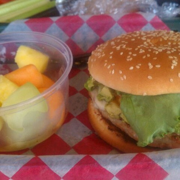 Turkey Burger With Avocado - Lord Fletcher's, Spring Park, MN