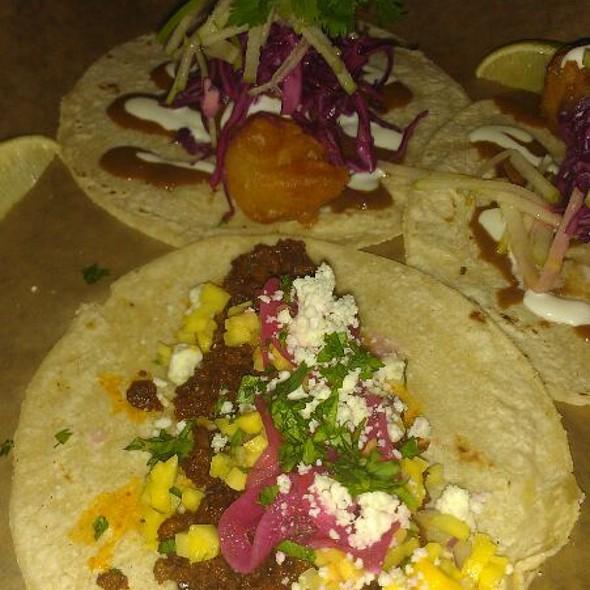 In Cod We Trust Taco  @ La Carnita
