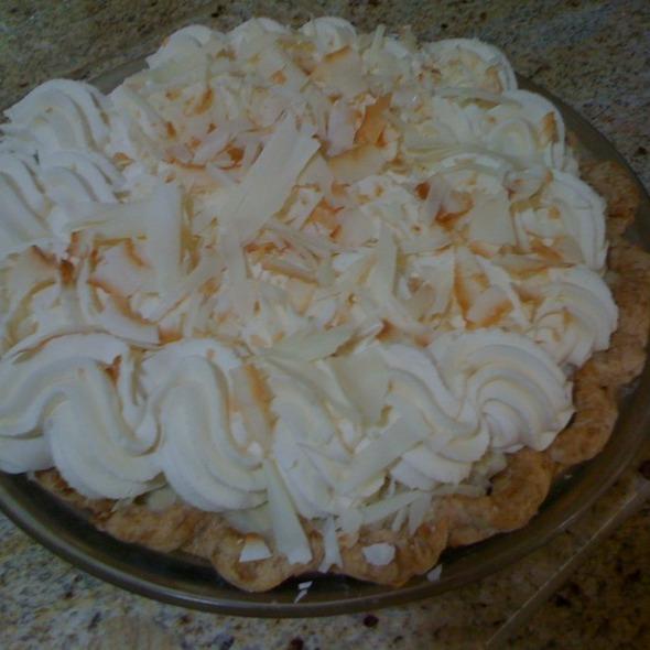 Triple Coconut Cream Pie @ Dahlia Bakery
