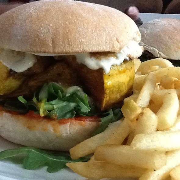 Mr Pumpkin Burger @ Madam Char Char Australia