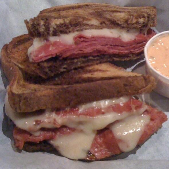 Hot Pastrami Sandwich @ First Street AleHouse