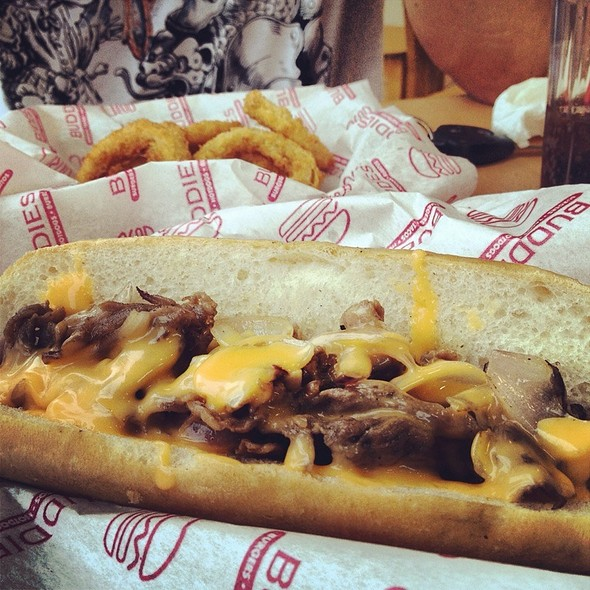 Philly Cheesesteak @ BUDDIES