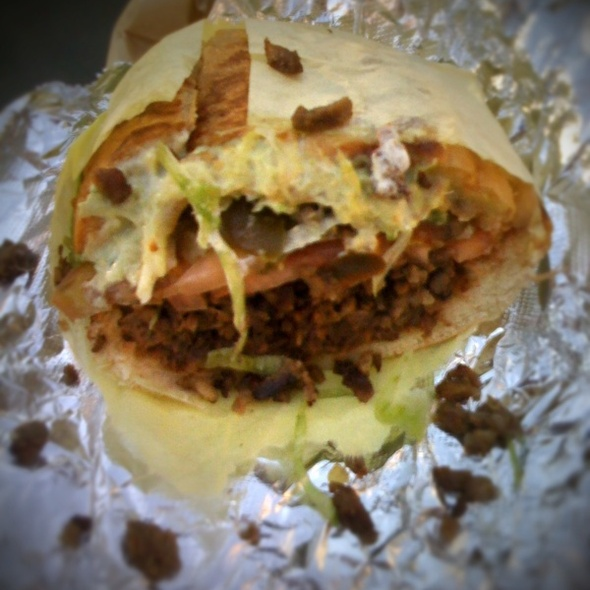 Carne Asada Torta @ Los Jalapeno Mexican Food