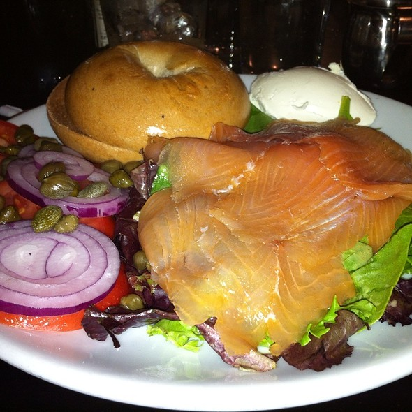 Lox And Bagel Platter @ Friedmans Lunch
