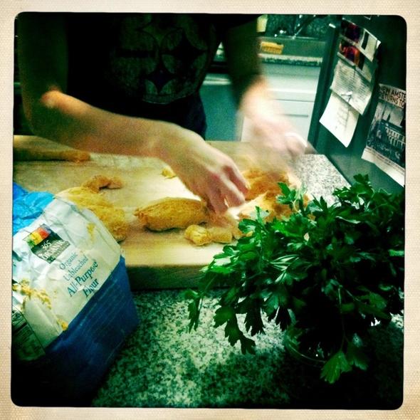 Sweet Potato Gnocchi @ Cafe Martin