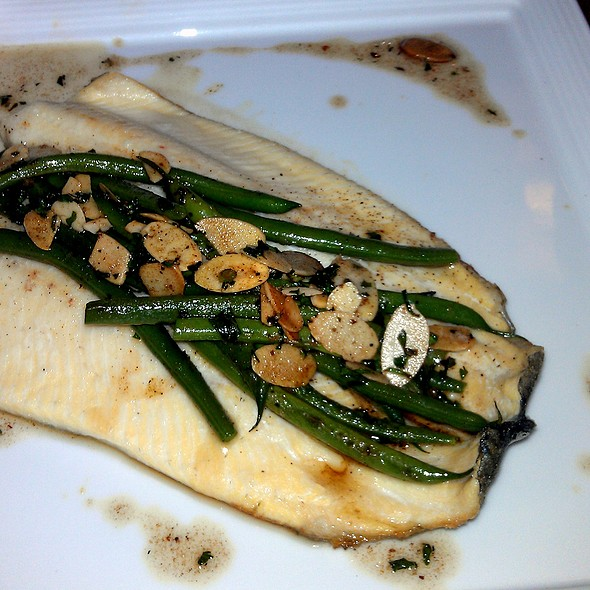 Shenandoah Trout with French Bean, Almond & Brown Butter - Cafe Du Parc, Washington, DC