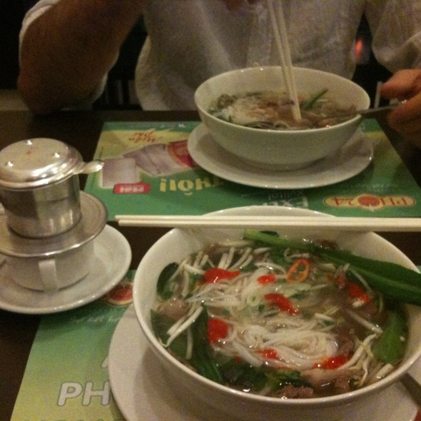 Pho Bo @ Phở 24