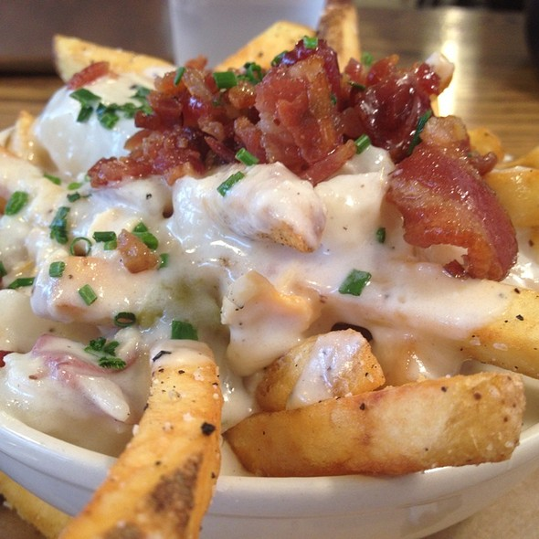 Chowda Fries @ Slapfish Restaurant