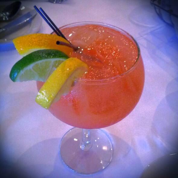 Passion Fruit Sangria @ Evo Restaurant & Bar