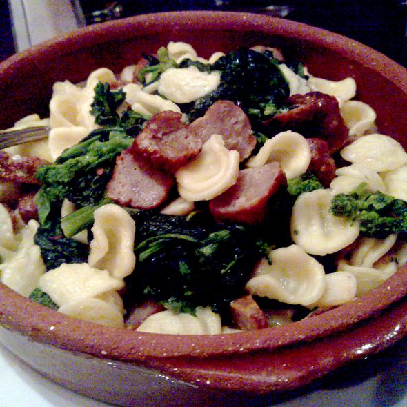 Orecchiette w/ Broccoli Rabe & Sausage