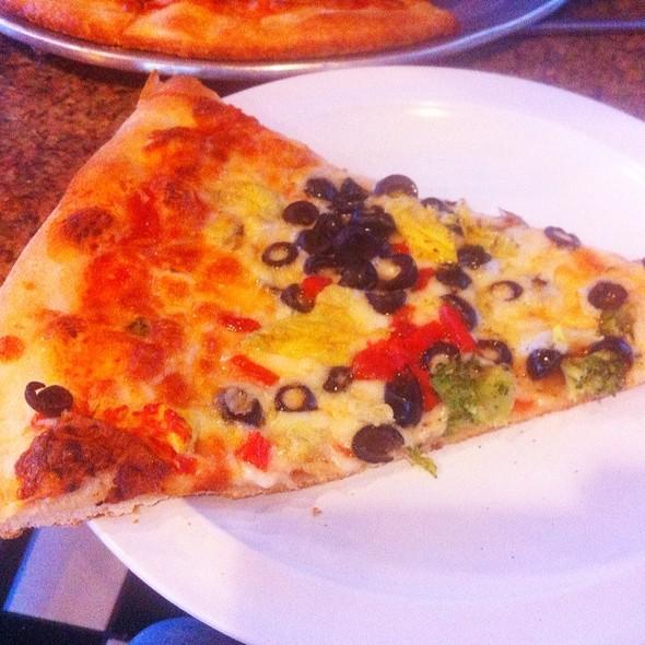 Vegetarian Pizza @ Celestino's Ny Pizza & Pasta