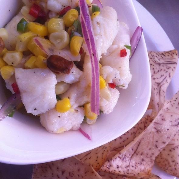 White Sea Bass Ceviche - Torito Tapas, Toronto, ON
