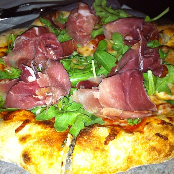 Prosuto And Arrugula Pizza - Luciano's - Sugarloaf, Duluth, GA