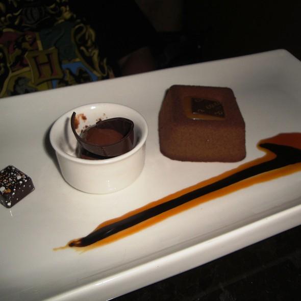 Chocolate Onyx Dessert
