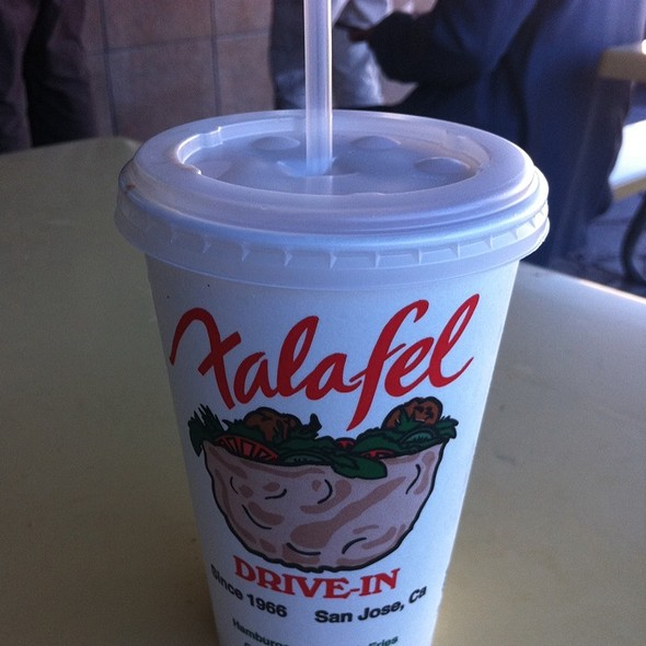 Banana Chocolate Milkshake @ Falafel Drive-In