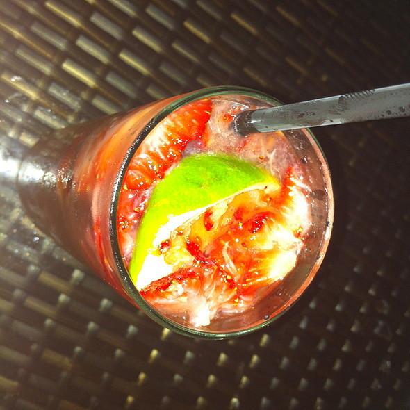 Strawberry Caipirinha - Lakeside Bar + Grill, Celebration, FL
