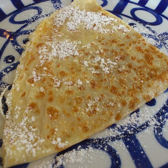Crepe with Butter & Sugar