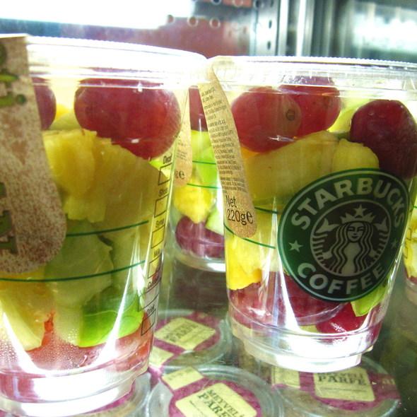 Meyve Salatasi  (Fruit Salad) @ Starbucks - Istanbul Airport
