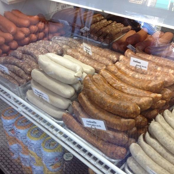 Sausages  @ Rosamunde Sausage Grill