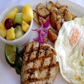 Big Kahuna Fish Breakfast