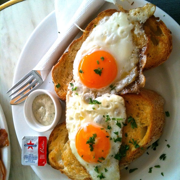 Eggs on Toast @ Provence Artisan Bakers