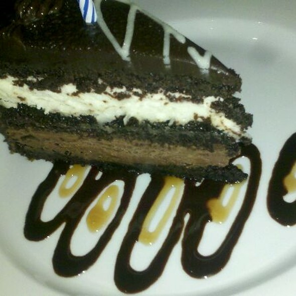 Triple White Chocolate Mousse Cake @ Texas de Brasil at Gulfstream Park