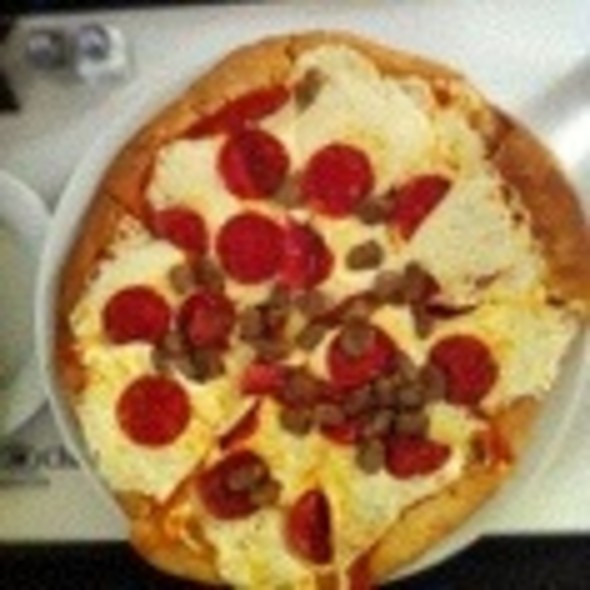 Pepperoni And Sausage Pizza - Coastal Restaurant & Bar – Hilton Charlotte Center City, Charlotte, NC